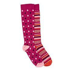 MUK LUKS® Women's Compression Sock 2-Pair Pack