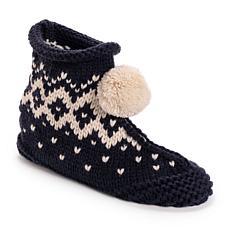 MUK LUKS® Women's Knit Bootie Slippers