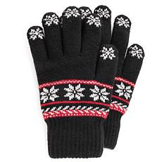 MUK LUKS Women's Lined Touchscreen Gloves