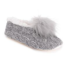 MUK LUKS® Women's Novelty Pom Ballerina Slippers