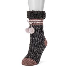 MUK LUKS Women's Slouchy Cabin Socks