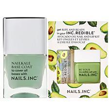 Nails.INC 3-piece Ripe and Ready Nail and Lip Set