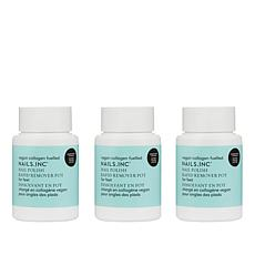 Nails.INC Peppermint Nail Polish Remover Trio