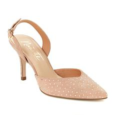 Nanette Nanette Lepore Sue Jeweled Slingback Pump