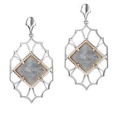 "Natalie Wood Designs 18"" ""Runaway Romantic"" Pyramid Necklace"