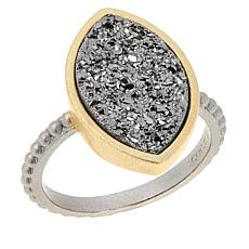 "Natalie Wood Designs ""She's a Gem"" Drusy Ring"