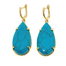 "Natalie Wood Designs ""She's a Stunna"" Faceted Drop Earrings"