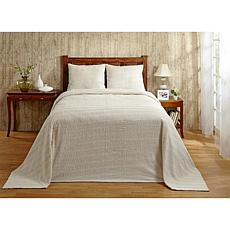 Natick 100% Cotton Tufted Chenille Bedspread - Full