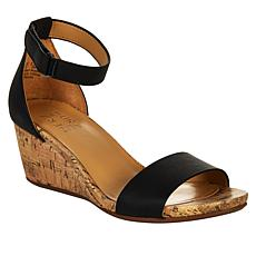 Naturalizer Areda Leather Wedge Sandal