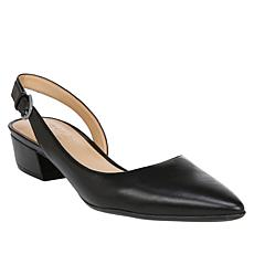 Naturalizer Banks Leather Slingback Pump