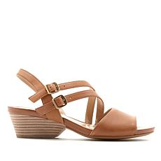 Naturalizer Gigi Leather Strappy Slingback Sandal