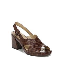 Naturalizer Renly Crossover Strap Slingback Heeled Sandal