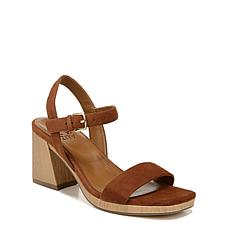 Naturalizer Rose Leather Heeled Sandal
