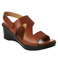 Naturalizer Valerie Leather Wedge Sandal