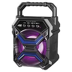 "Naxa Portable 3"" Bluetooth Speaker with Disco Light"