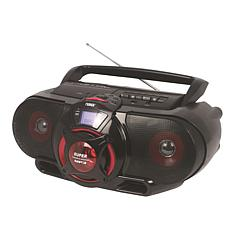 Naxa Portable Bluetooth MP3/CD Stereo Radio & Cassette Player/Recorder