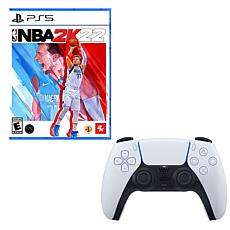 NBA 2K22 for PlayStation 5 with DualSense Wireless Controller