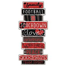"NC State Celebrations Stack 24"" Sign"