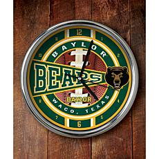 NCAA Chrome Clock - Baylor