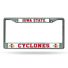 NCAA Chrome License Plate Frame - Iowa State