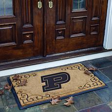 NCAA Door Mat - Purdue