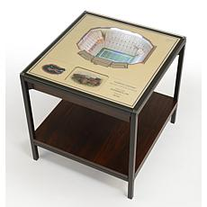 NCAA Florida Gators 25-Layer End Table - Ben Hill Griffin Stadium