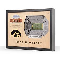 NCAA Iowa Hawkeyes StadiumViews 3-D Wall Art - Kinnick Stadium