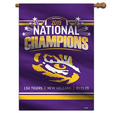 NCAA LSU Tigers National Champions 2019 House Banner