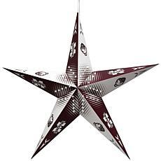 NCAA Mississippi State Bulldogs Star Lantern