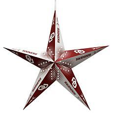 NCAA Oklahoma Sooners Star Lantern