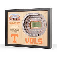 NCAA Tennessee Volunteers StadiumViews 3-D Wall Art - Neyland Stadium