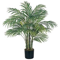 Nearly Natural 3' Areca Palm 7 Trunk Tree with 536 Leaves