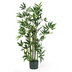 Nearly Natural 4 ft. Bamboo Tree with 540 Leaves