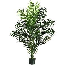 Nearly Natural 5' Paradise Palm Tree with 12 Leaves