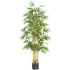 "Nearly Natural 64"" Bamboo Silk Tree"