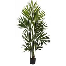 Nearly Natural 7 ft. Kentia Palm with 230 Leaves