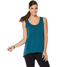 NENE by NeNe Leakes Hi-Low Knit Tank