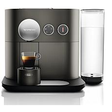 Nespresso Expert Anthracite Gray Single-Serve Espresso Machine