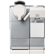 Nespresso Lattissima Touch Frosted Silver Espresso Machine