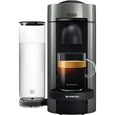 Nespresso VertuoPlus Gray Single-Serve Coffee Espresso  Machine