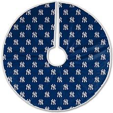New York Yankees Christmas Tree Skirt