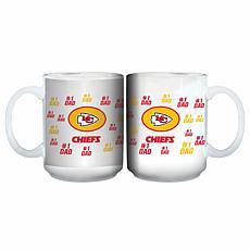 NFL 15 oz. Father's Day Team Mug - Chiefs