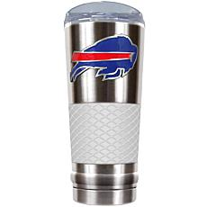 NFL 24 oz. Stainless Steel/White Draft Tumbler - Bills