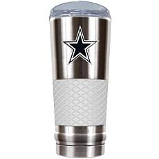 NFL 24 oz. Stainless/White Draft Tumbler - Cowboys