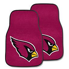 NFL Arizona Cardinals 2-piece Carpet Car Mat Set