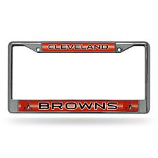 NFL Bling Chrome Frame - Browns
