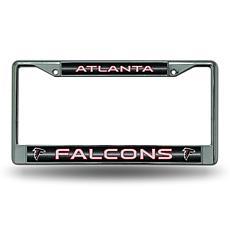 NFL Bling Chrome Frame - Falcons