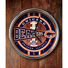 NFL Chrome Clock - Bears