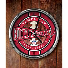 NFL Chrome Clock - Buccaneers