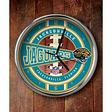 NFL Chrome Clock - Jaguars